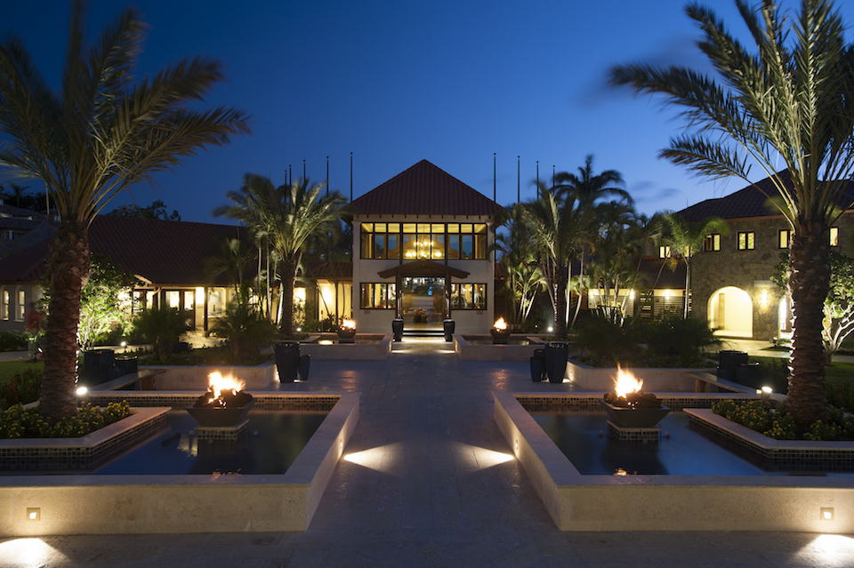 [HQ]_Sandals LaSource Grenada Courtyard at Night