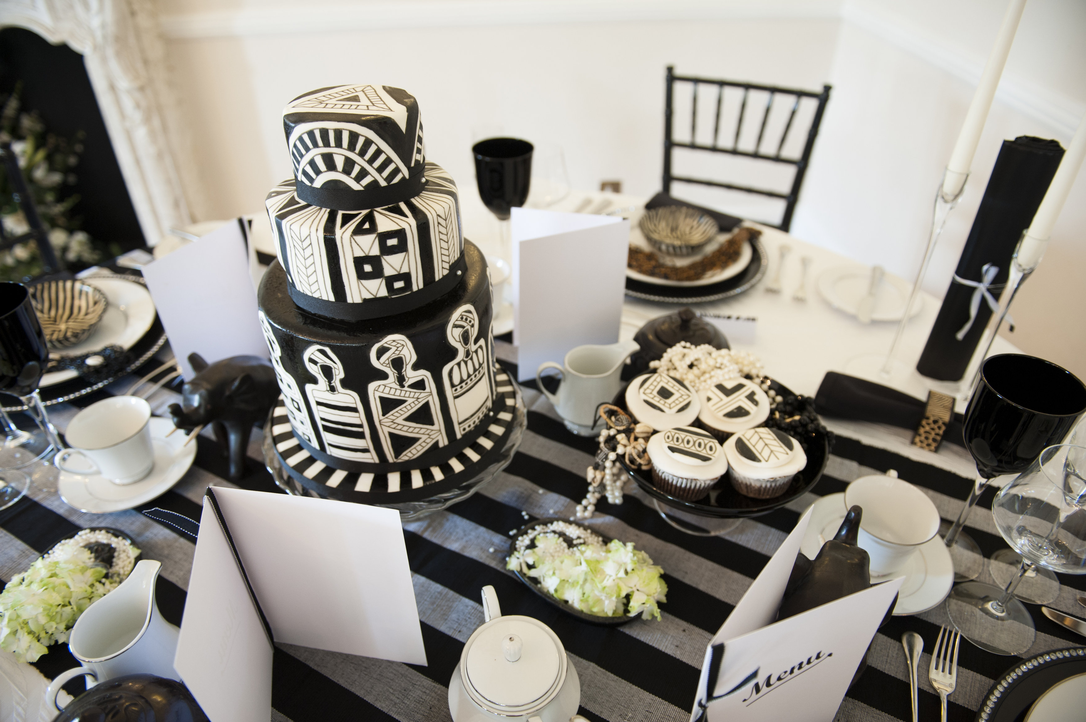 African Wedding Decorations: Delicious African Vintage Bridal Shoot