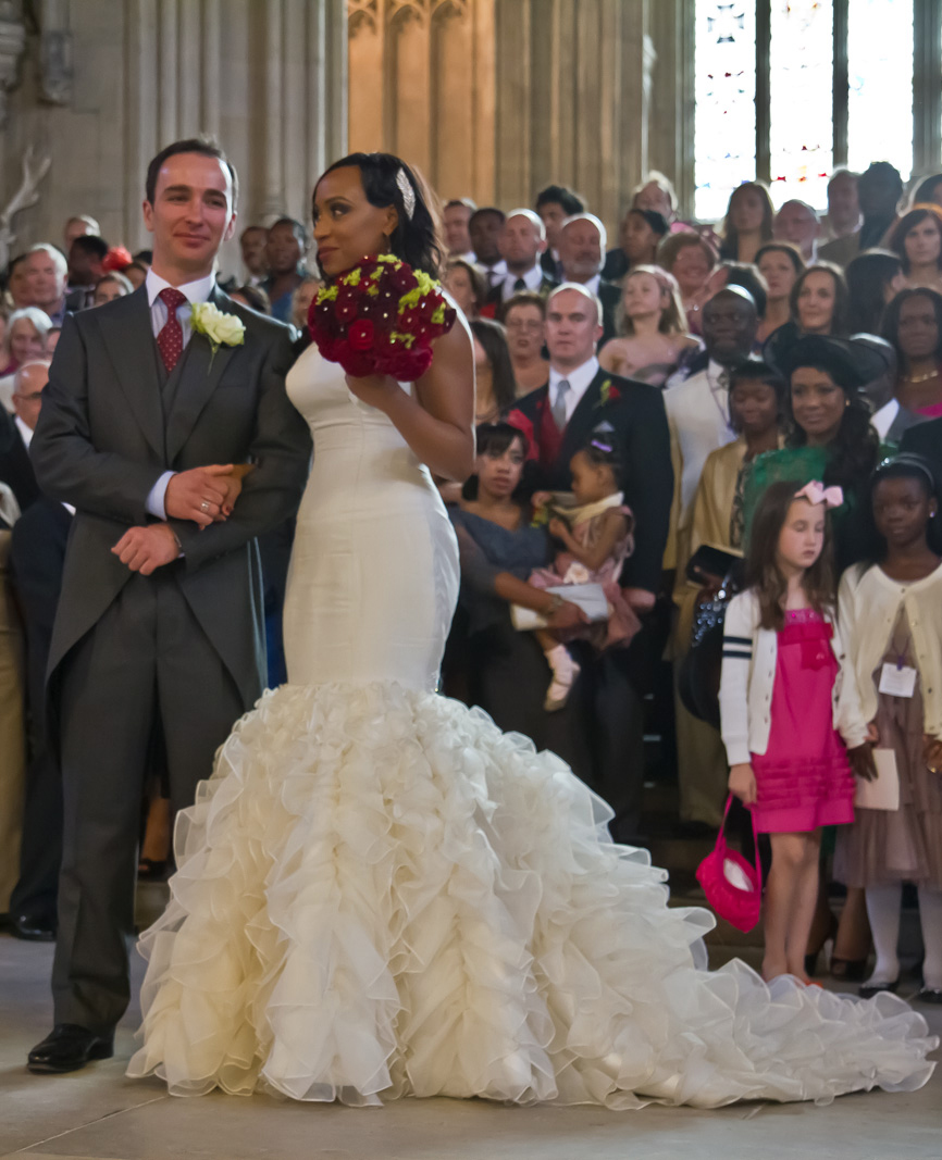 The Perfect Couture Wedding Dress for Slim to Curvy Brides | An ...