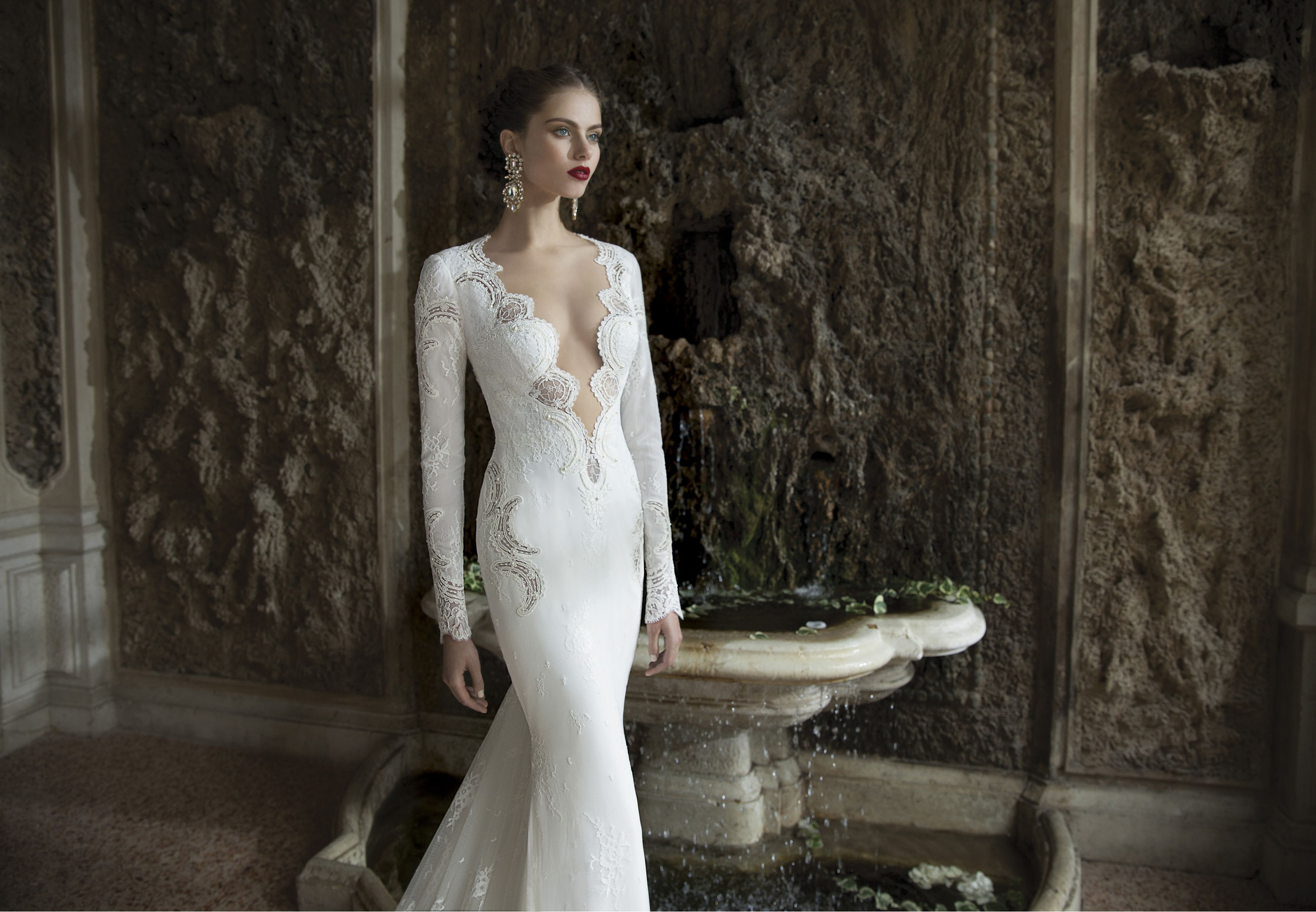 Stunning new 2014 winter collection from berta bridal nu for Custom designed wedding dress