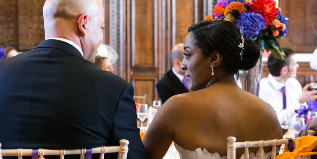 Spanish, Caribbean-Indian, Orange, Purple & Pink Wedding | Dulwich College | My Heart Skipped Photography