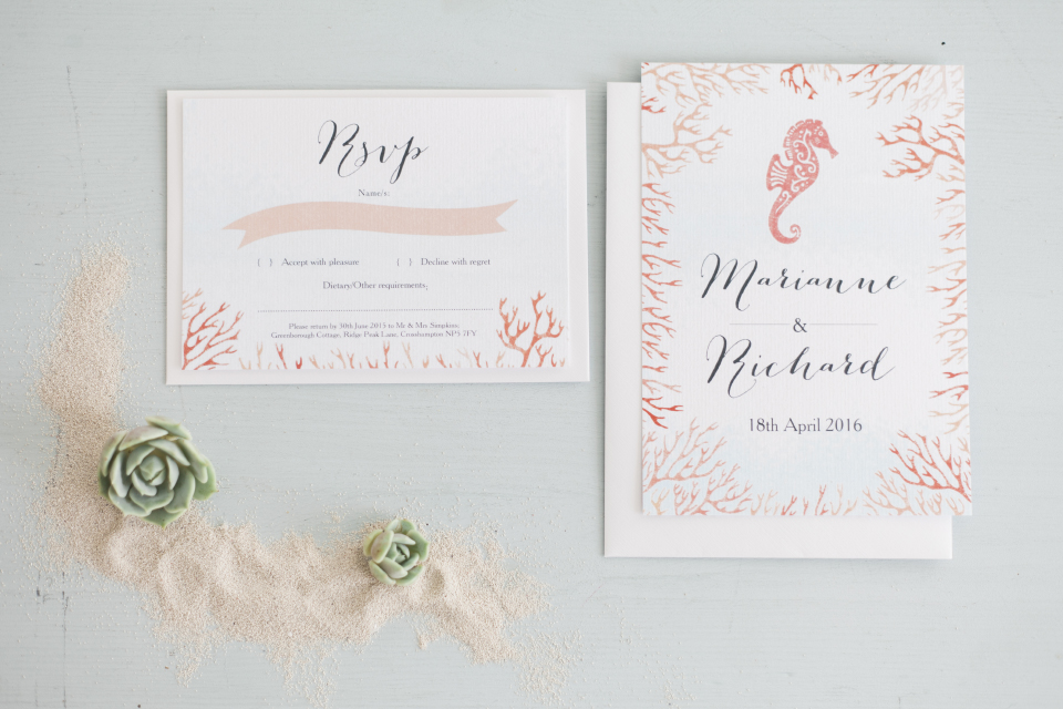 Travel beach tropical Postcard Wedding Save the Dates and stationery by Hip Hip Hooray MAXEEN KIM PHOTOGRAPHY