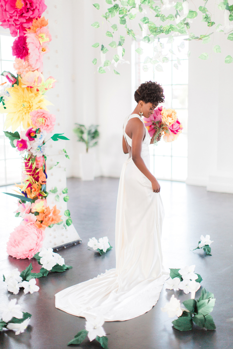 Tropical Wedding Inspiration in Central London