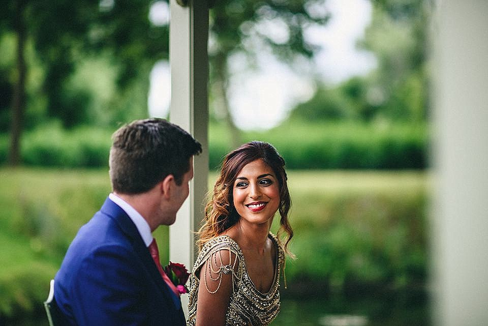 Red Navy and Gold Wedding | Langstowe Hall | Miki Photography | www.nubride.com_0513
