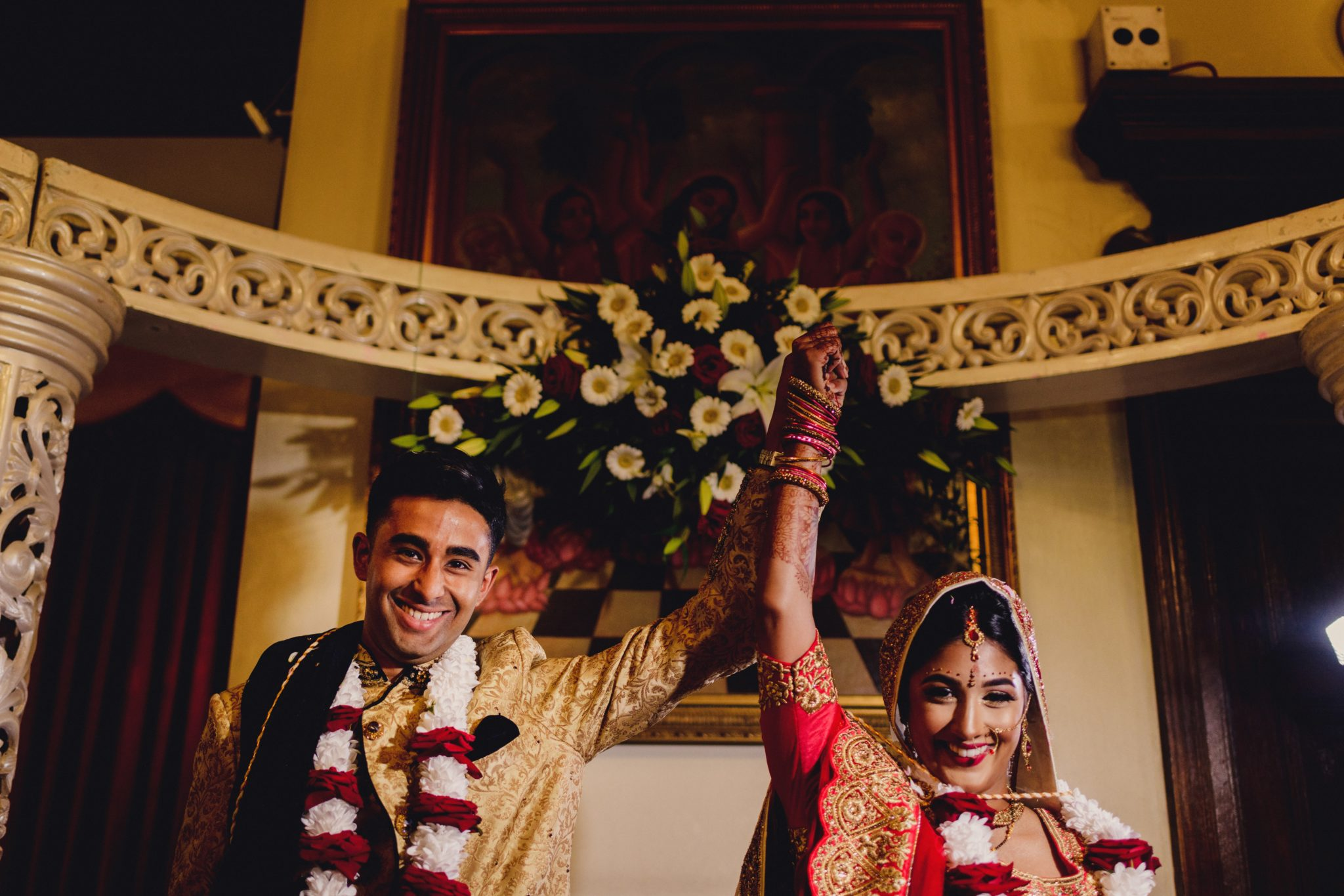Hindu ceremony Romantic Contemporary Indian-Sri Lankan wedding