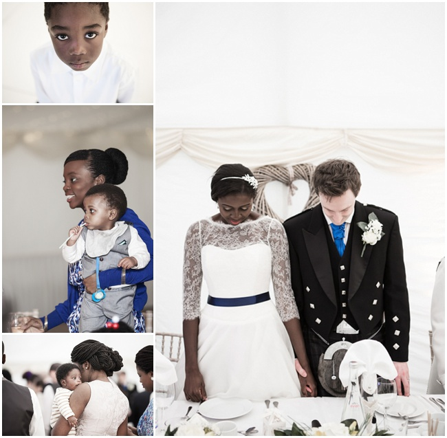 6f9aba1d796 Beautiful British Scottish Ghanaian Family Filled Wedding by ...