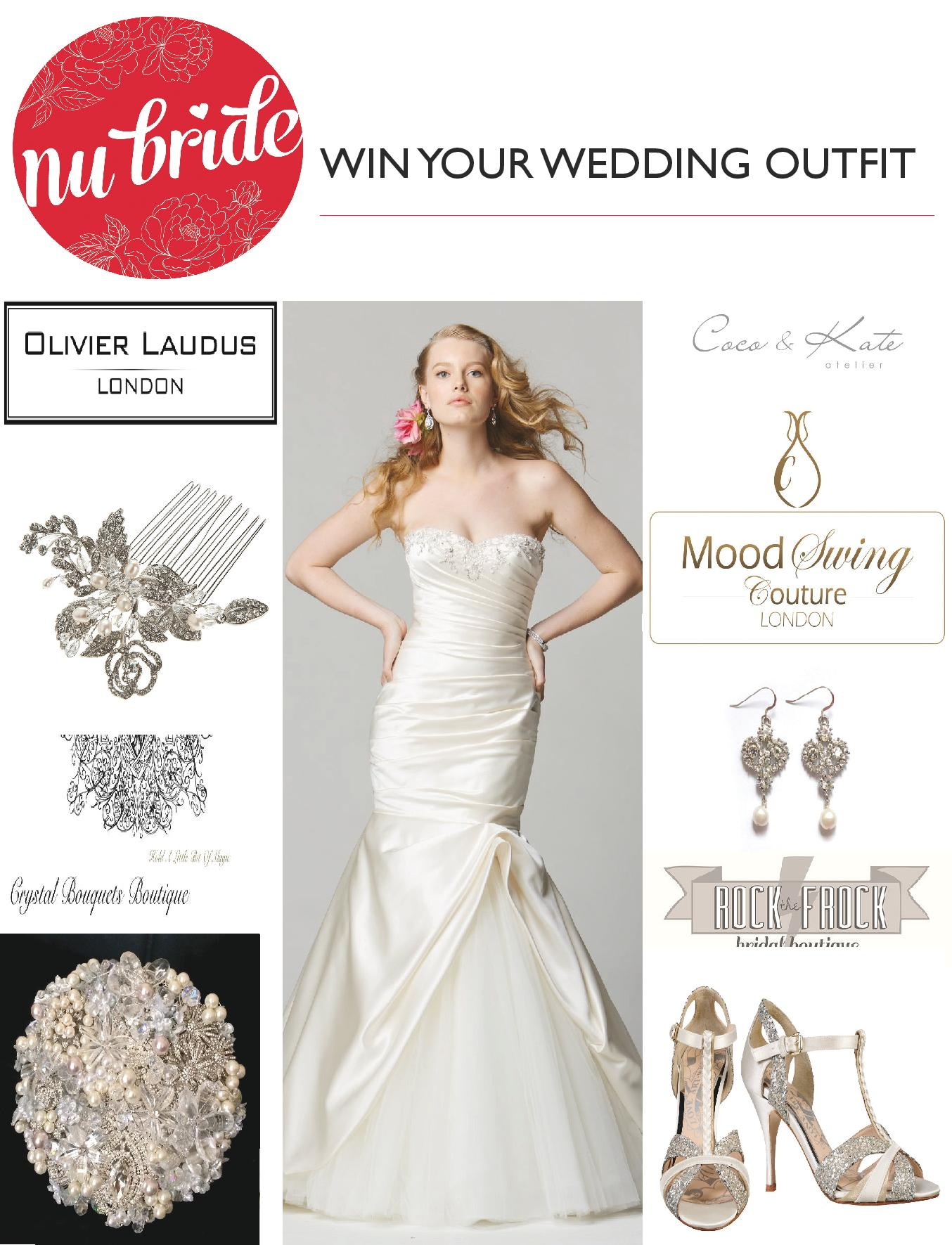 NOW CLOSED Competition: Win Your Wedding Outfit Worth £1630 - Nu Bride